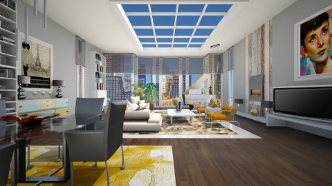 29Th Floor - Modern - Living room  - by janip