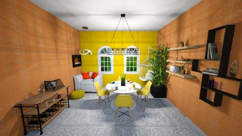 Relaxing Party Dine In - Dining room  - by I_love_my_dog_icecream_and_cookie
