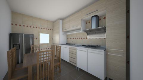 Bucatarie 6 - Rustic - Kitchen  - by Ionut Corbu