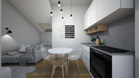 Casa156KitchenandDining - Eclectic - Kitchen  - by nickynunes