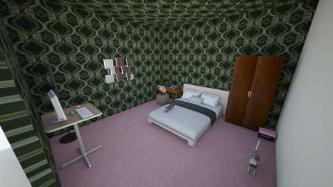 my bedroom - Glamour - by Trinity Norris