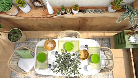 scandinavian dining - Dining room  - by mehl