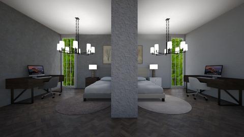 Two Room in One Room - Office  - by Tanem Kutlu