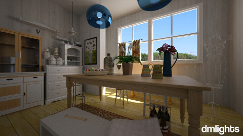Display  - Dining room - by DMLights-user-992086