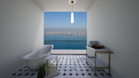 gold bathroom - Bathroom  - by dia17a
