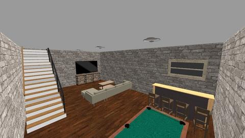 Living Room Downstairs - Rustic - Living room - by andrewsalmon04