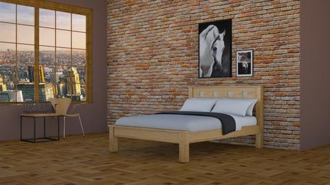 Horse - Bedroom  - by designcat31