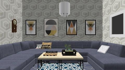 Geometric living room - Country - Living room  - by deleted_1555954801_Shoe690