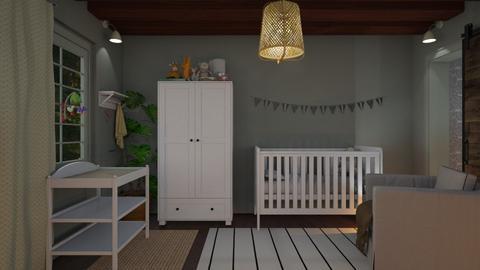 Surprise Baby Nursery - Kids room  - by mikaelahs