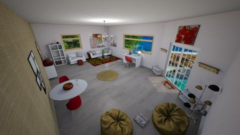 Strawberry - Modern - Living room  - by ColinMcNamee