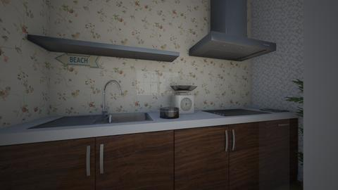 Beach House_Kitchen  - Vintage - Kitchen  - by Pheebs09