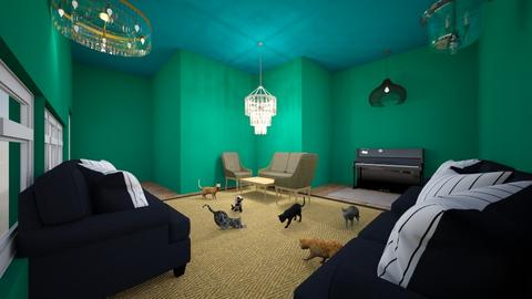 Jade Lounge - Living room  - by Snowball Styler