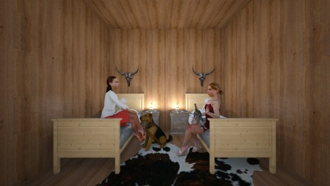 book project - Country - Bedroom  - by kenziedru02