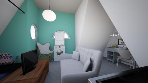 Attic apartment version 1 - Modern - by GeekyGirl