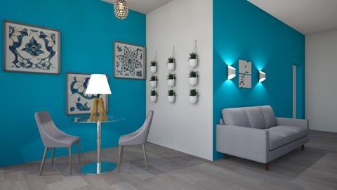 Small flat - Modern - by WibbleWobble