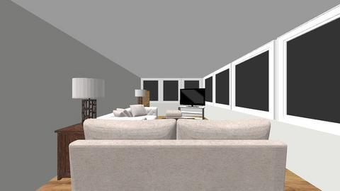 Living4_TV_NW - Living room  - by nickyoshida