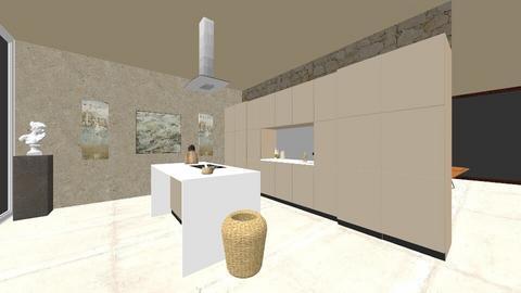 Designer neutral - Minimal - Living room  - by MilanaY