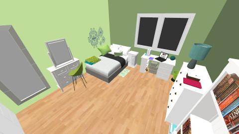 girl Bedroom  - Classic - Bedroom  - by Lucrecia Pelicer