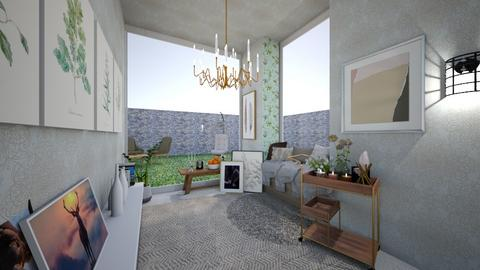 Hallway - Living room - by NN22