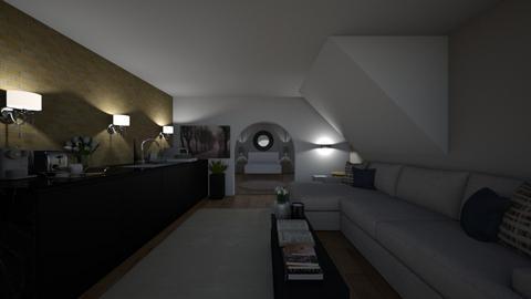 Small Apartment - Modern - Living room  - by natalieeyauu