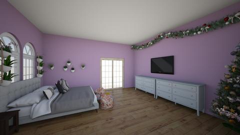 purple room - Bedroom  - by imarti123