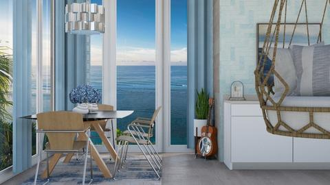 Ocean Inspired Kitchen - by ivetyy1010