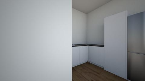 Kitchen 3d1 - Minimal - Kitchen  - by manju Vg