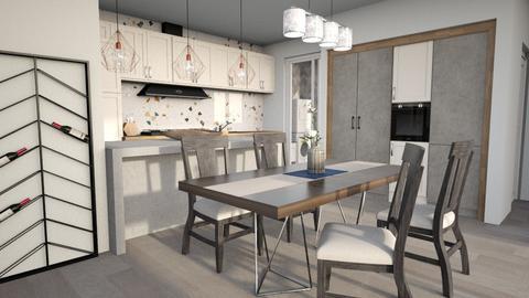 Scandi Flex Dining - Dining room  - by lyrikkah