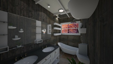 Cabin Bath - by AkhiaStyle