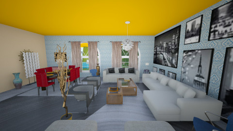 MythSweet - Modern - Living room - by Michelly