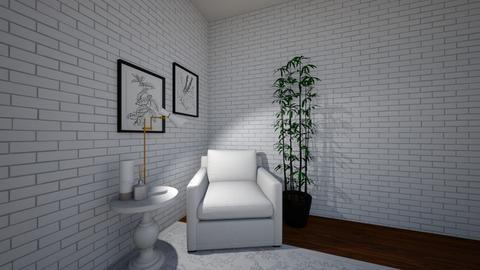 local de leitura  - Living room  - by alicia vieira