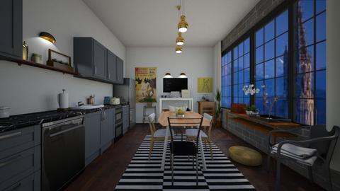 10 - Kitchen  - by hanantt