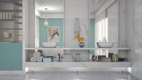 marble bain - by yonvie