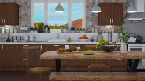 Kitchen Vignette 3 - Kitchen  - by GraceKathryn
