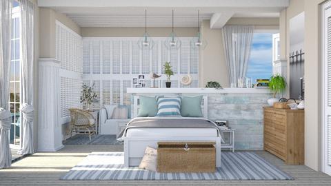 Coastal bedroom - Bedroom  - by Lizzy0715