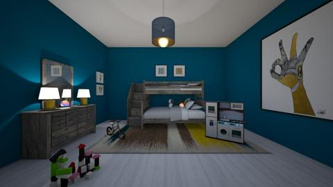 drews room - Bedroom - by courtsmith71772