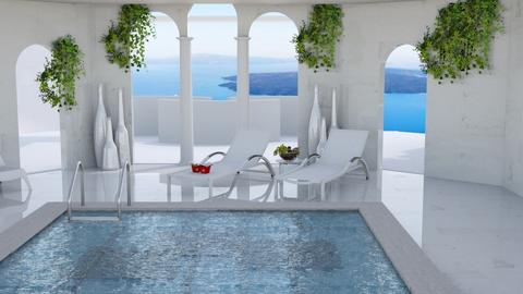 Hotel Pool Template - by matina1976