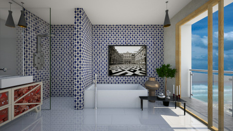 Sea View Bathroom - Modern - Bathroom  - by 3rdfloor