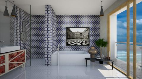 Sea View Bathroom - Modern - Bathroom - by 3rdfloor