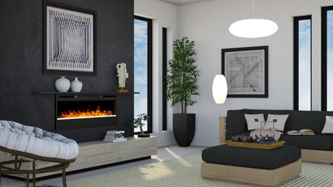 Japandi_Contest_CCorreia - Living room  - by Claudia Correia