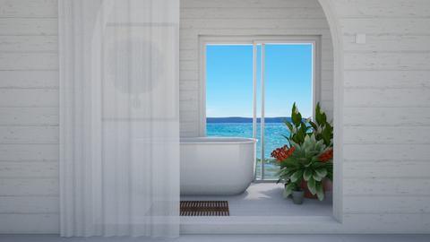 bath by the beach  - Country - Bathroom  - by Anya F