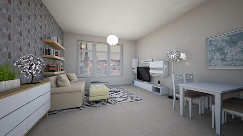 P - Classic - Living room  - by Twerka