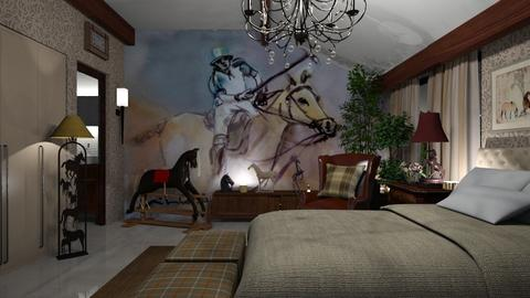 Polo - Bedroom  - by LuzMa HL