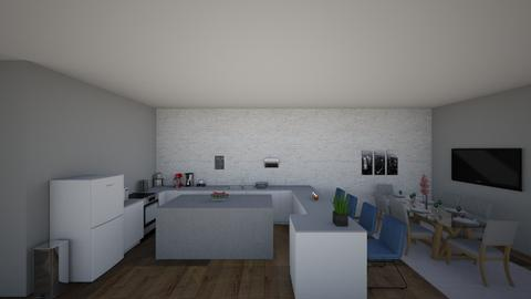 Apartment - Modern - Kitchen - by Kairyp