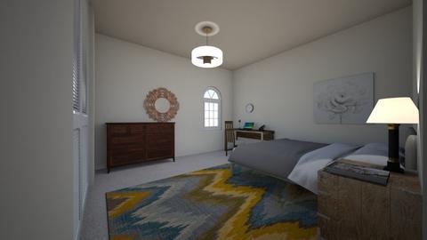 My Real Bedroom - Modern - Bedroom  - by kittytarg