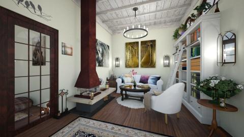 Rustic Living - Rustic - Living room  - by RunawayAngel