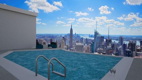 fancy swimming pool - Modern - by tolo13lolo