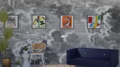 Semi - Living room  - by LaughingDonut