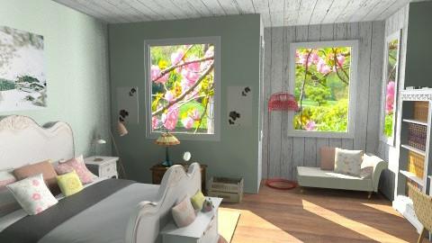 bedroom  - Bathroom - by alliesmiley