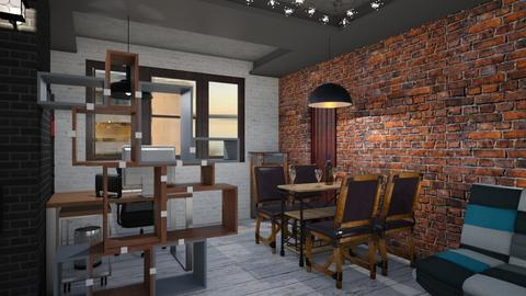 Living Room By Bogdan - Retro - Living room  - by Bogdan Marisoiu